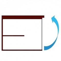 Mecanismo de apertura horizontal sin barra Teknoit