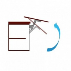 Mecanismo de apertura horizontal con barra