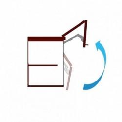 Mecanismo de apertura doble puerta