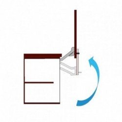 Mecanismo de apertura vertical
