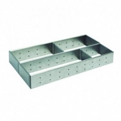 Organizador modular de acero