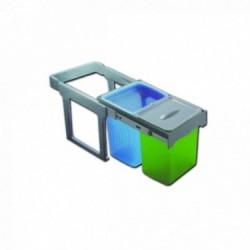 Cubo de basura ecológico