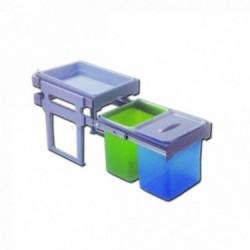 Cubo ecológico con bandeja extraíble